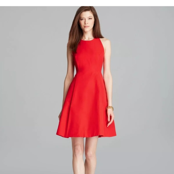 KATE SPADE Red Angelika Dress Size 8 women
